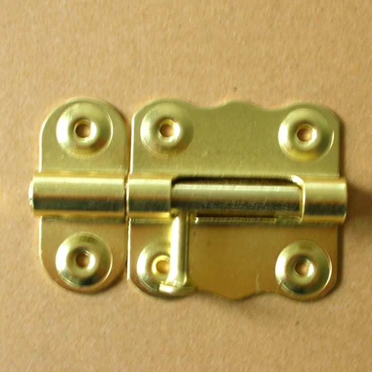 Home decoration door and window mounted latch lock