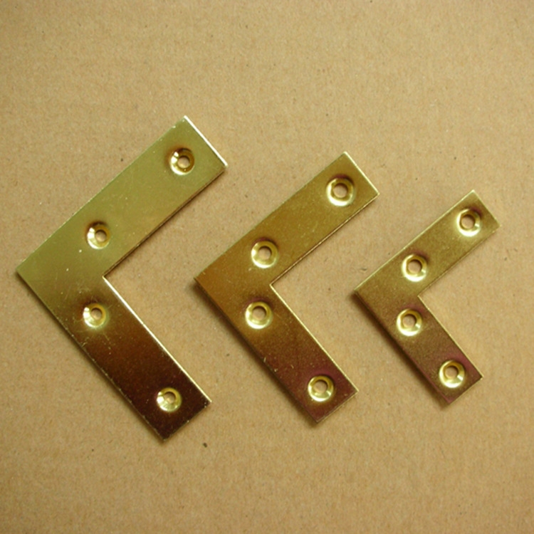 L-shaped flat corner code connecting piece