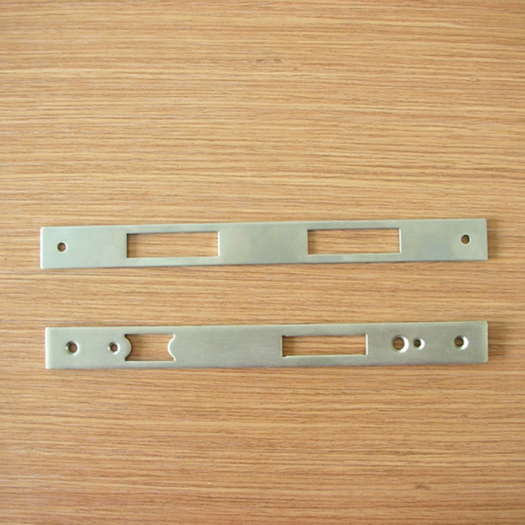 Stainless steel lock panel